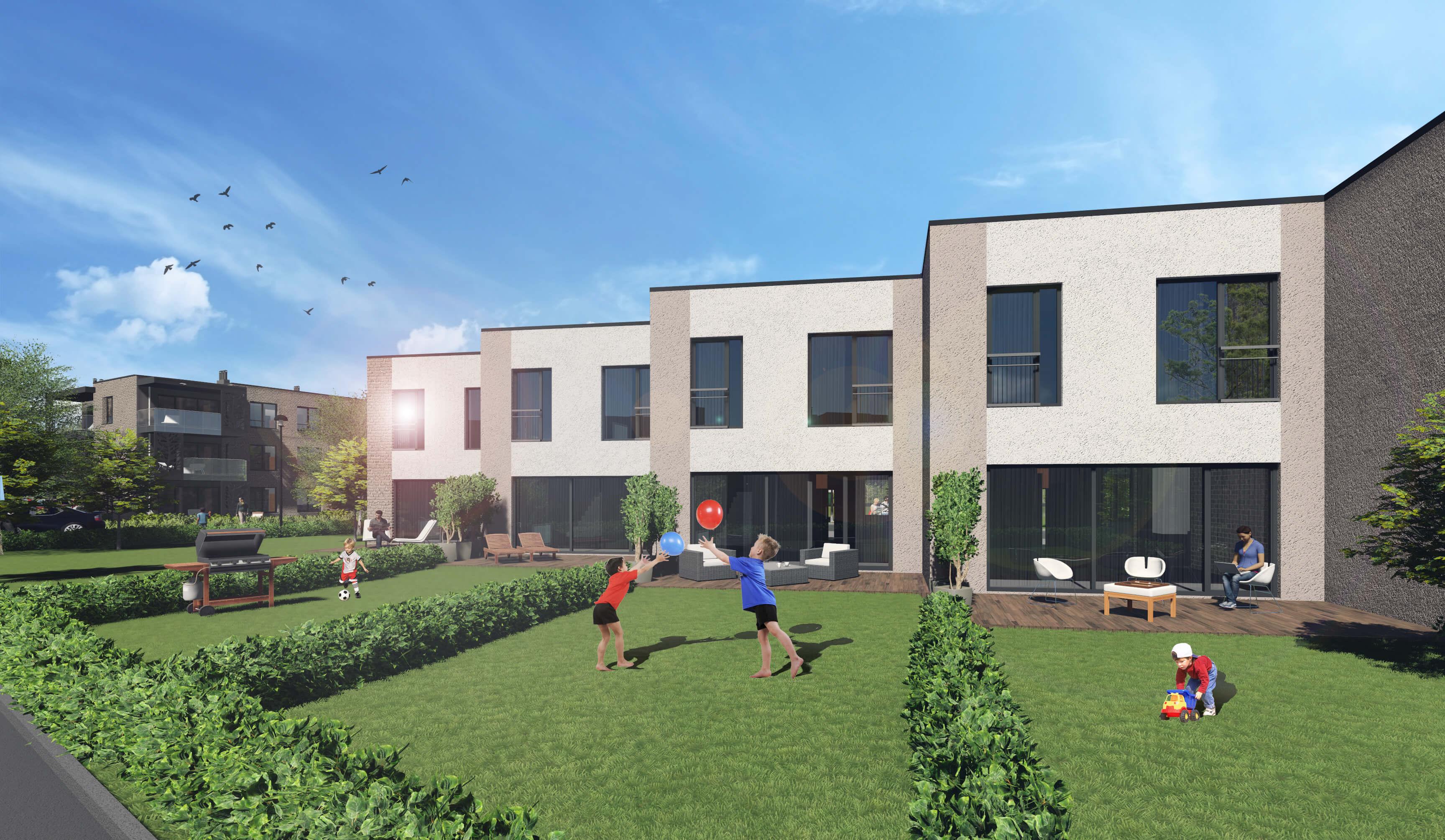 Vieno buto gyvenamųjų namų Klemiškės g. 32, 32A, Klaipėdoje, projektas (IV etapas)