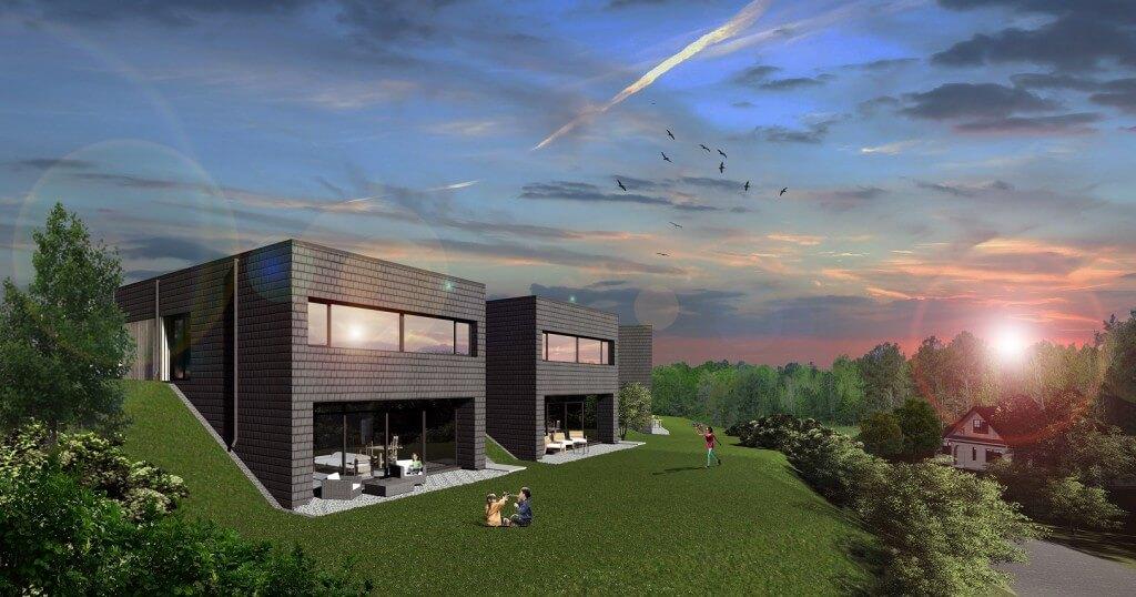 Gyvenamųjų namų kvartalo projektiniai pasiūlymai Kretingoje