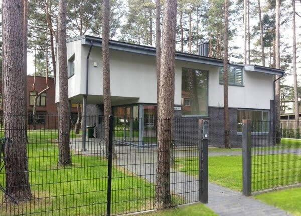 Palangos g. 15b, Klaipėdoje, gyvenamojo namo projektas
