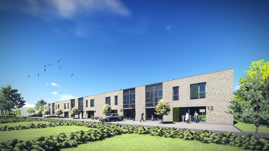 Vieno buto gyvenamųjų namų Klemiškės g. 32, 32A, Klaipėdoje, projektas (II etapas)