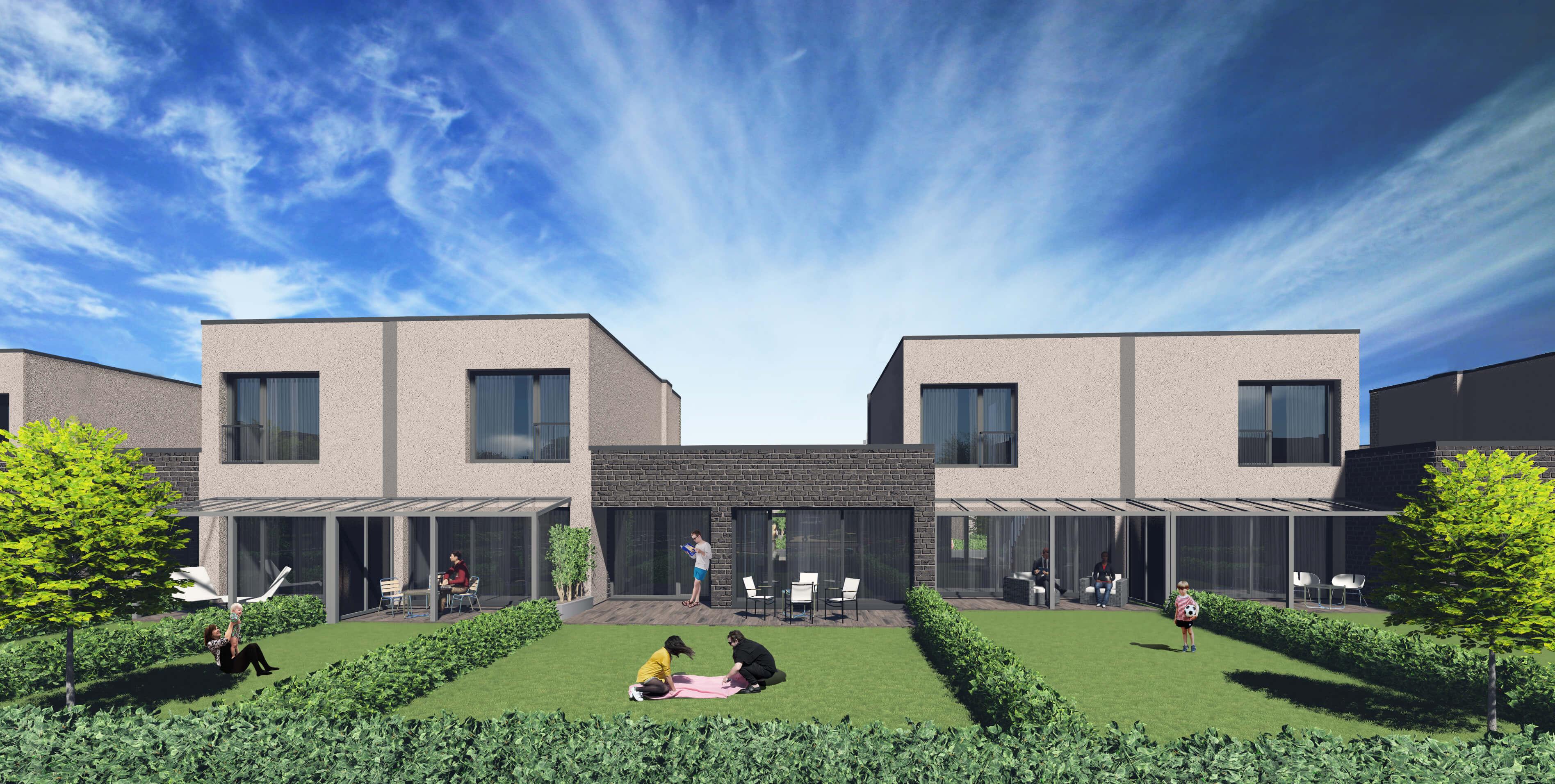 Vieno buto gyvenamųjų namų Klemiškės g. 32, 32A, Klaipėdoje, projektas (III etapas)