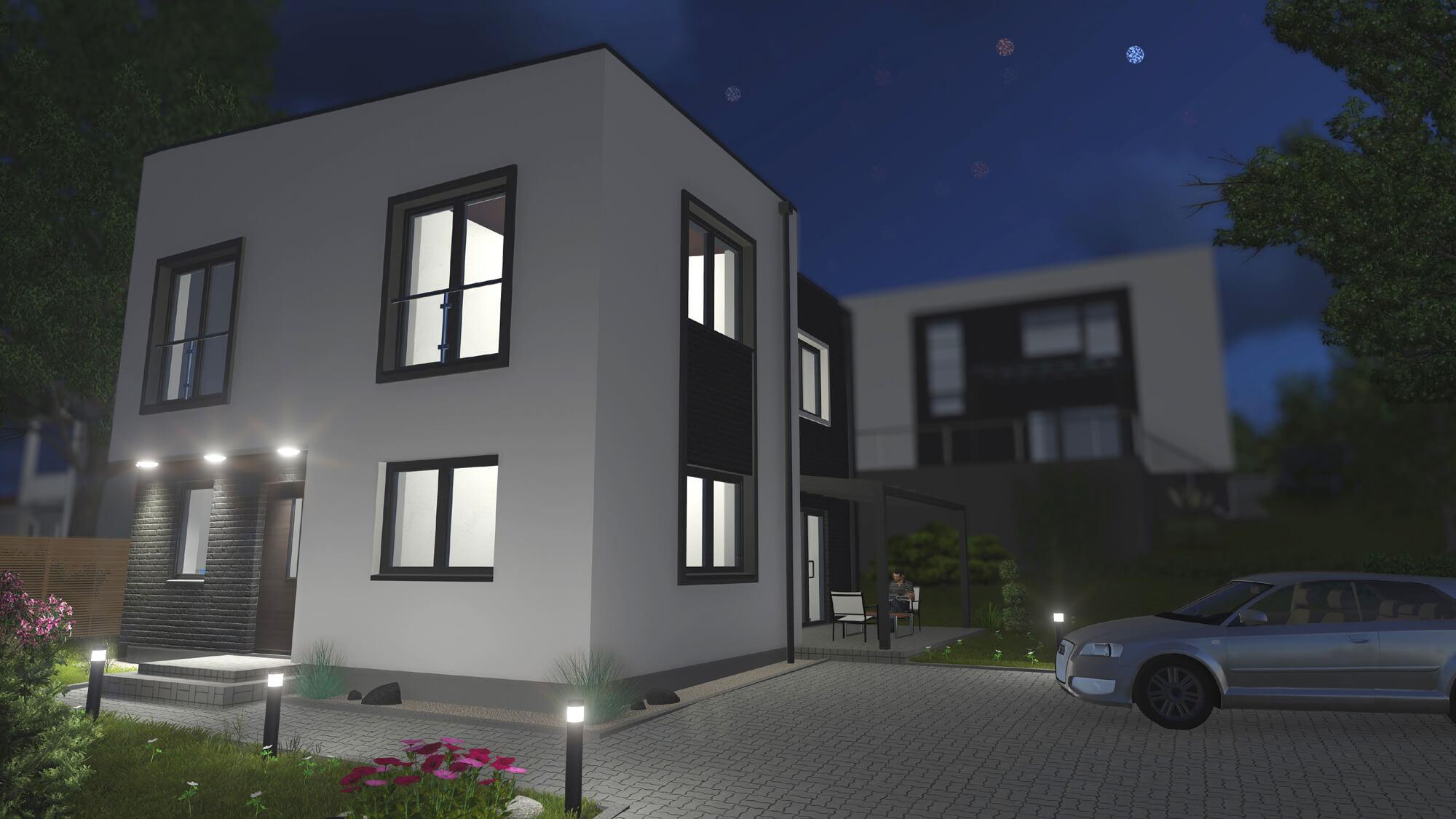 Šienpjovių g. 23, Klaipėdoje, gyvenamojo namo projektas