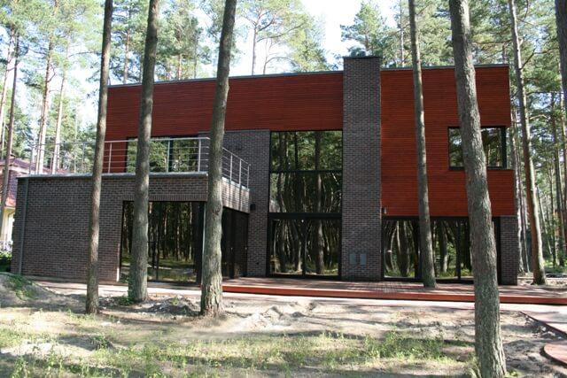 Palangos g. 15d, Klaipėdoje, gyvenamojo namo projektas