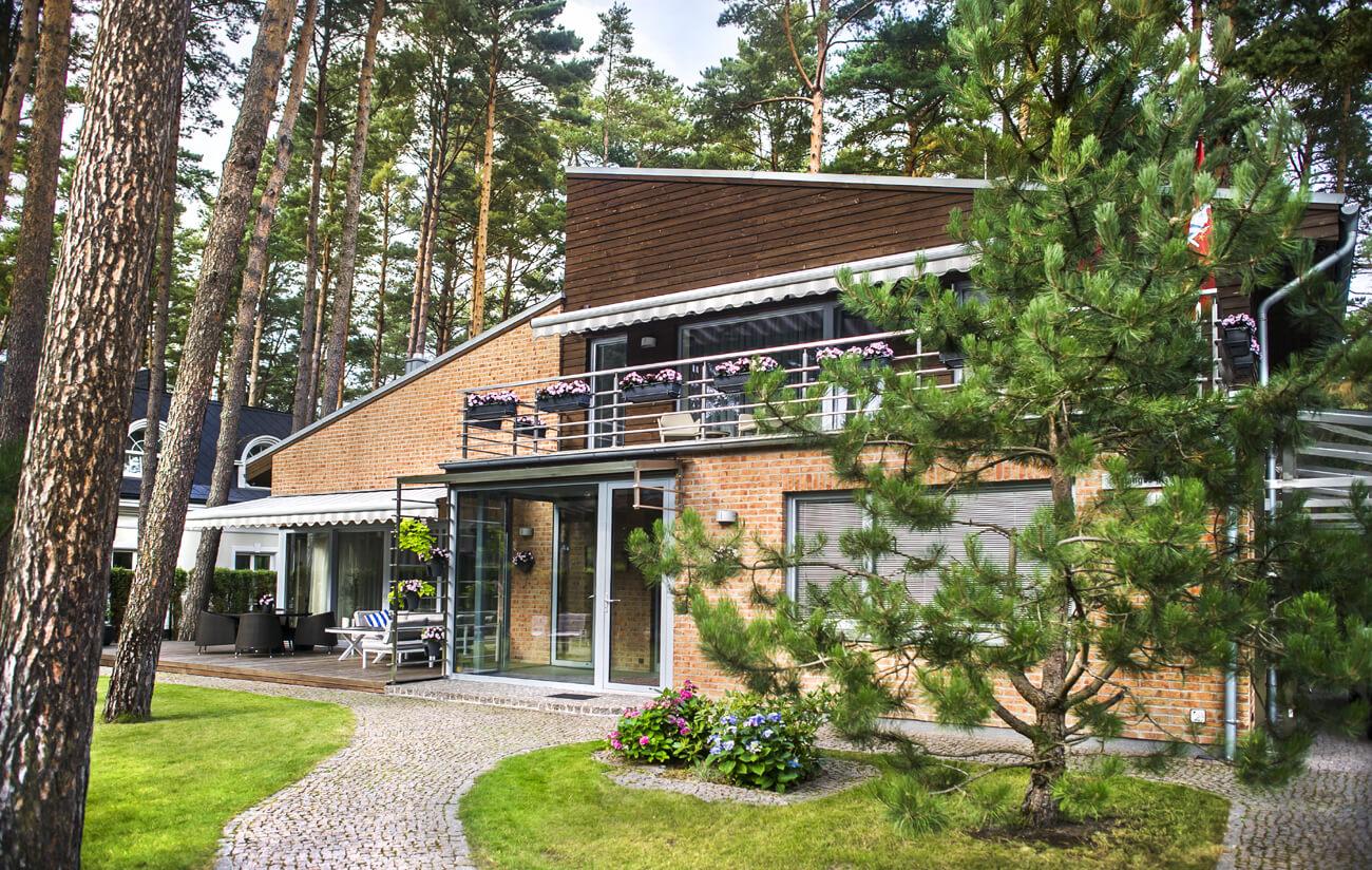 Palangos g. 17a, Klaipėdoje, gyvenamojo namo projektas