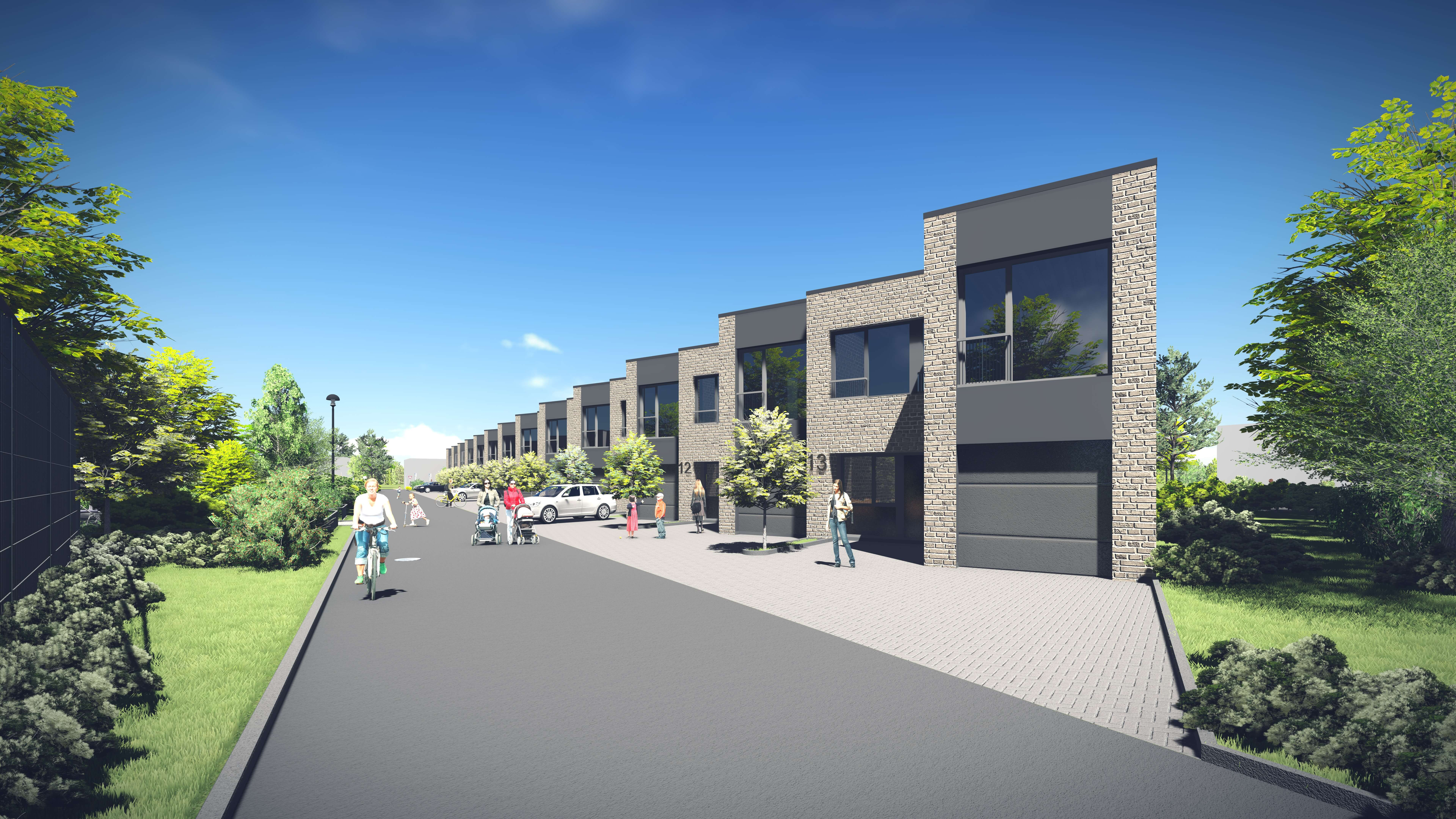 Vieno buto gyvenamųjų namų Klemiškės g. 32, 32A, Klaipėdoje, projektas (I etapas)