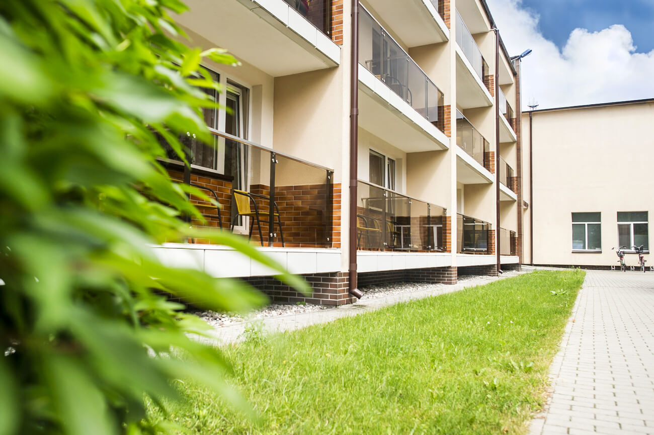 Viliaus Gaigalaičio globos namų modernizacija