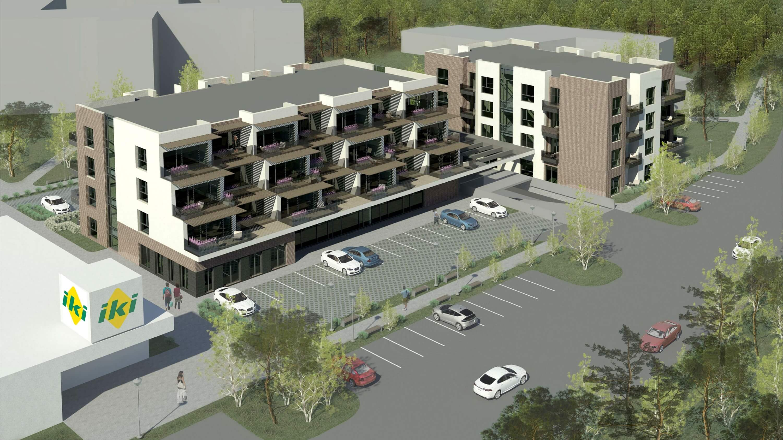 Daugiabučių gyvenamųjų namų projektiniai pasiūlymai Palangoje
