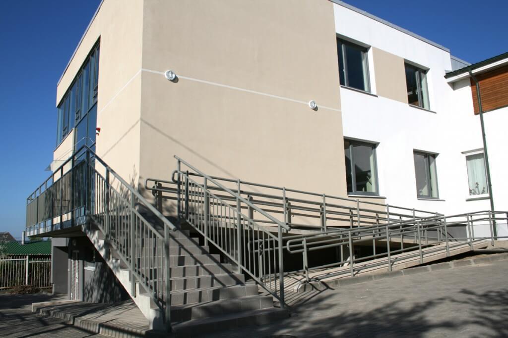 Dienos centro modernizavimas V. Kudirkos g. 6, Raseiniai