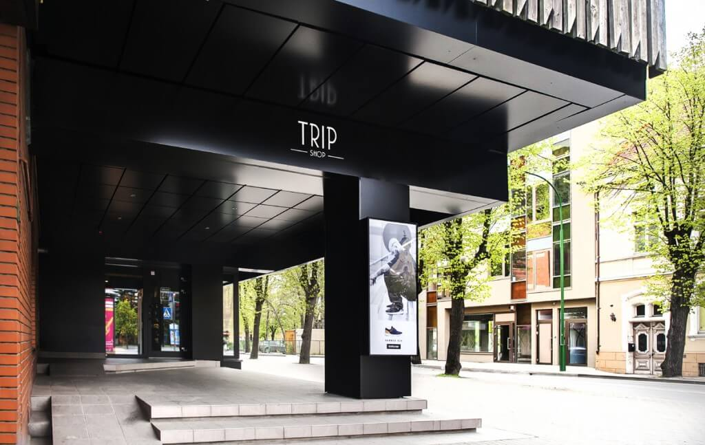 "Parduotuvės ""Trip"" renovacija H. Manto g. 13, Klaipėda"