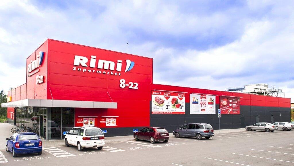"""Parduotuvės """"Rimi"""", Dituvoje, statybos projektas"""