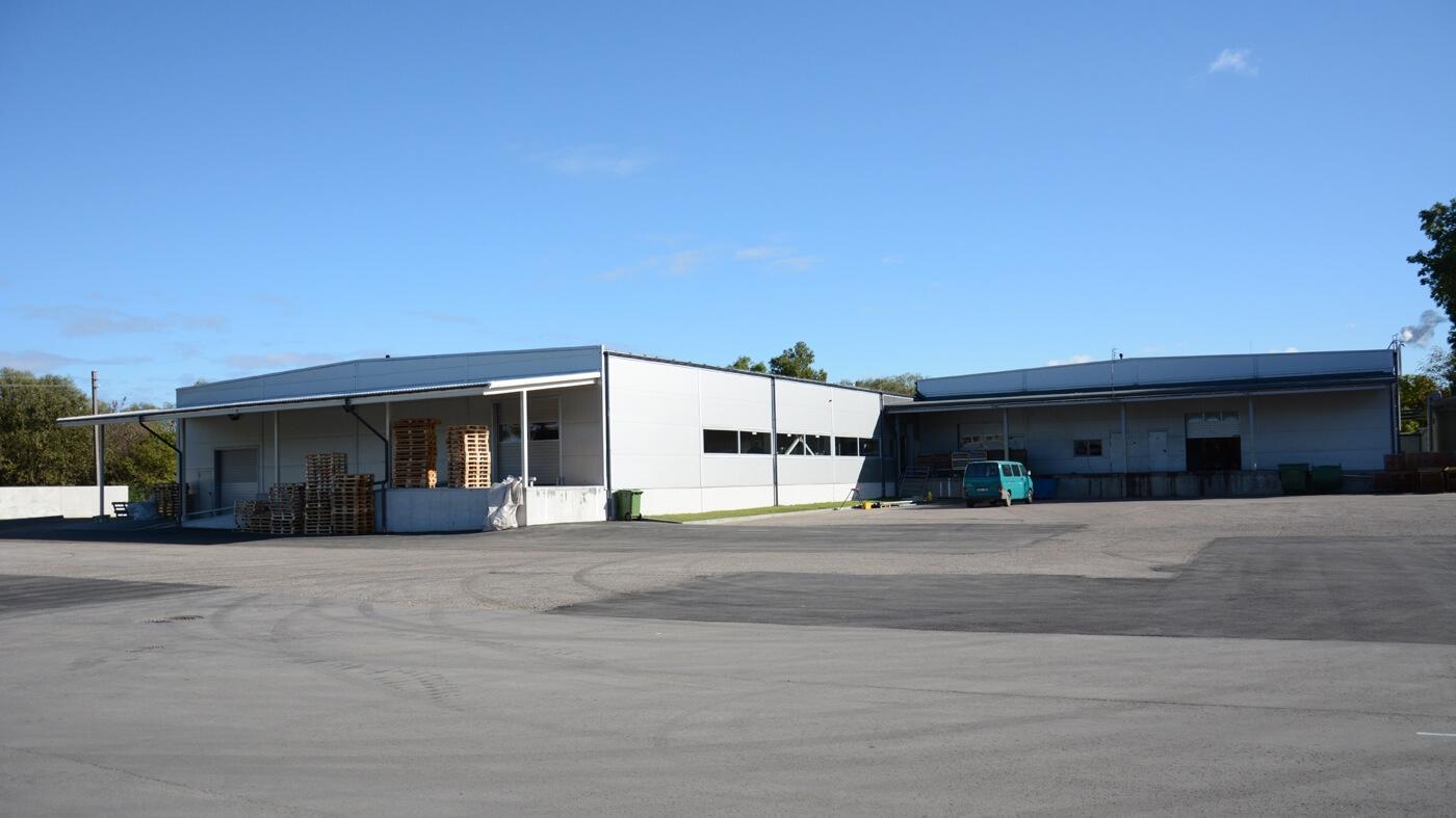 Didmeninės prekybos sandėliavimo pastato Verslininkų g. 6, Vydmantų k., Kretingos sen., Vydmantų r. sav. statybos projektas