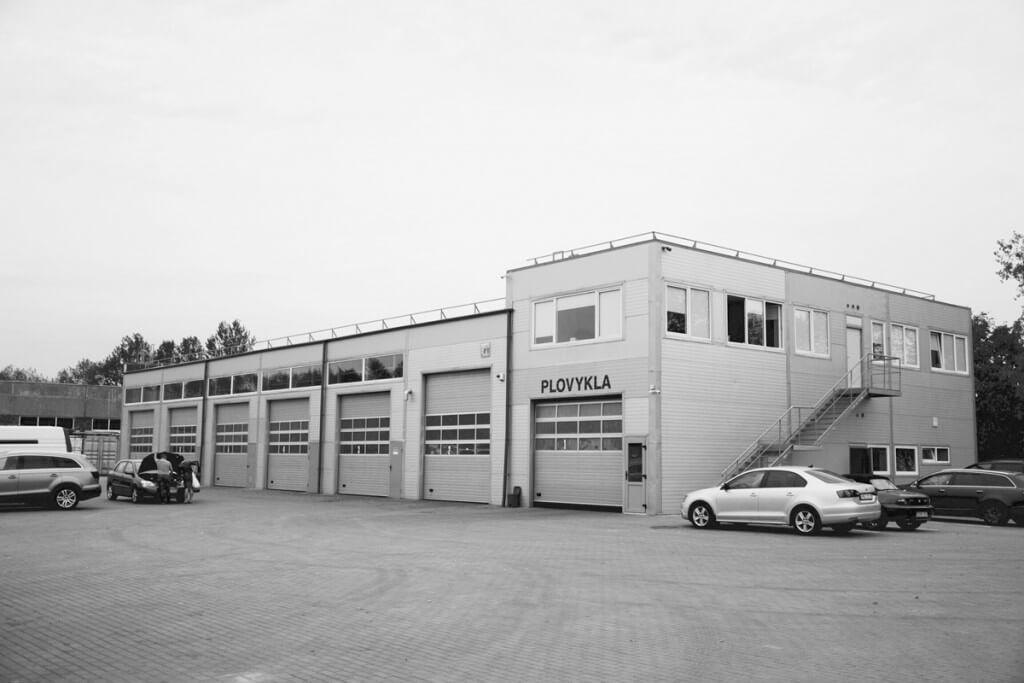 Sandėlio ir administracinio pastato statyba Šilutės pl. 57, Klaipėda