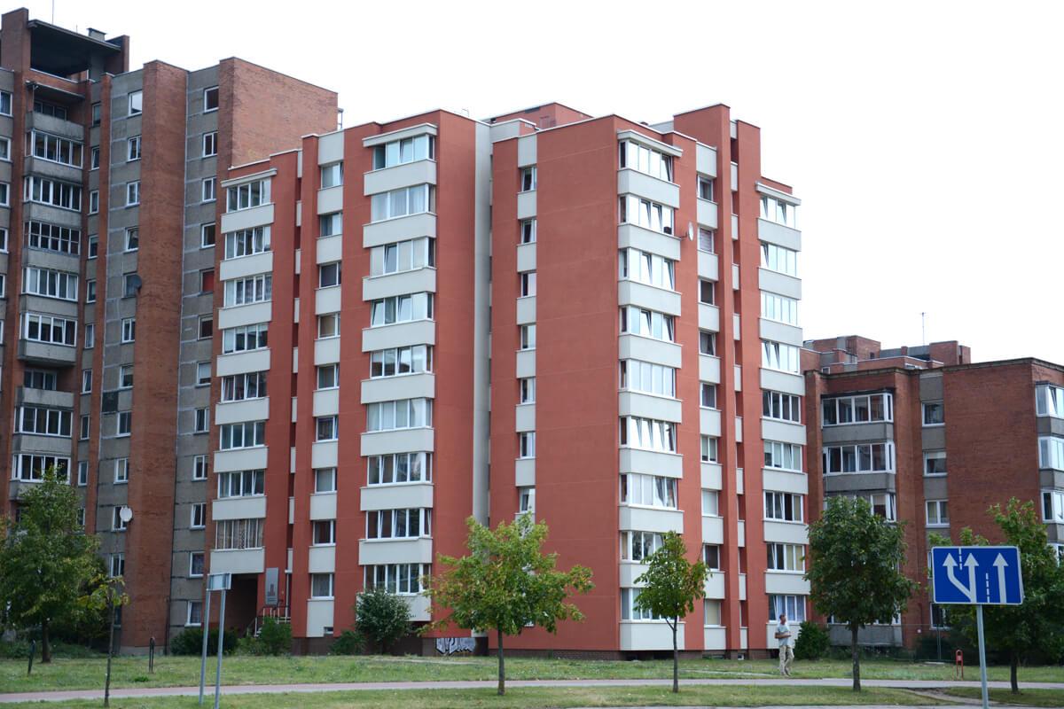 Liepojos g. 6, Klaipėdoje, daugiabučio modernizacija