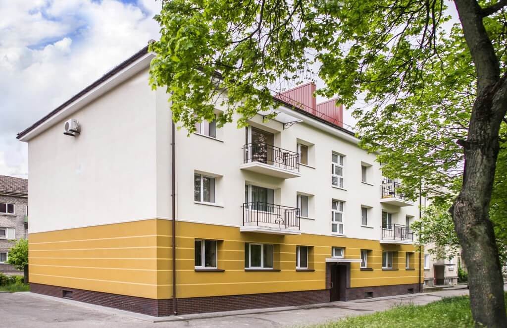 J. Zauerveino g. 10, Klaipėdoje, daugiabučio modernizacija