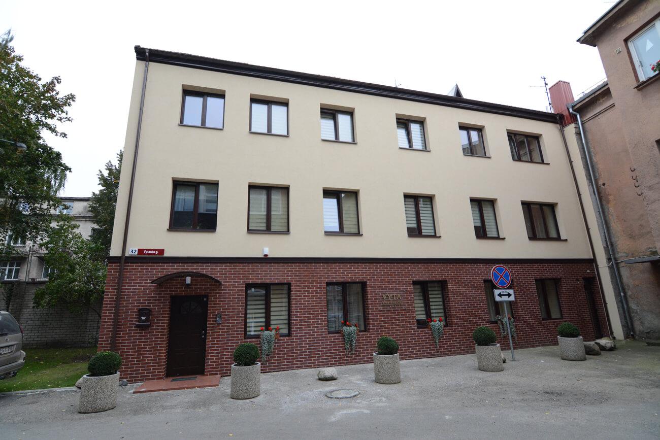 Svečių namų Vytauto g. 32, Klaipėdoje, paprastojo remonto projektas