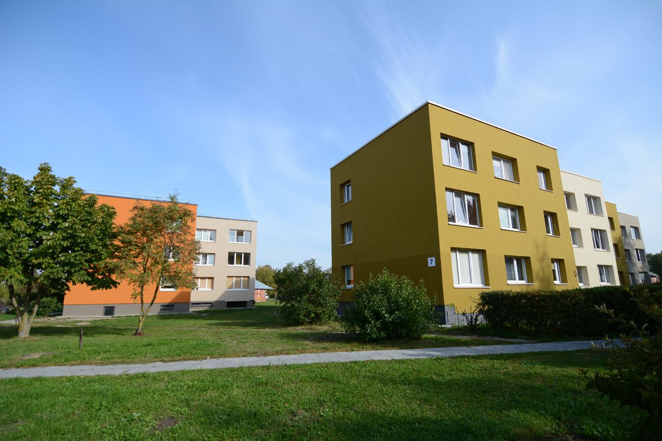 Kadagių g. 7, Klaipėdoje, daugiabučio modernizavimas