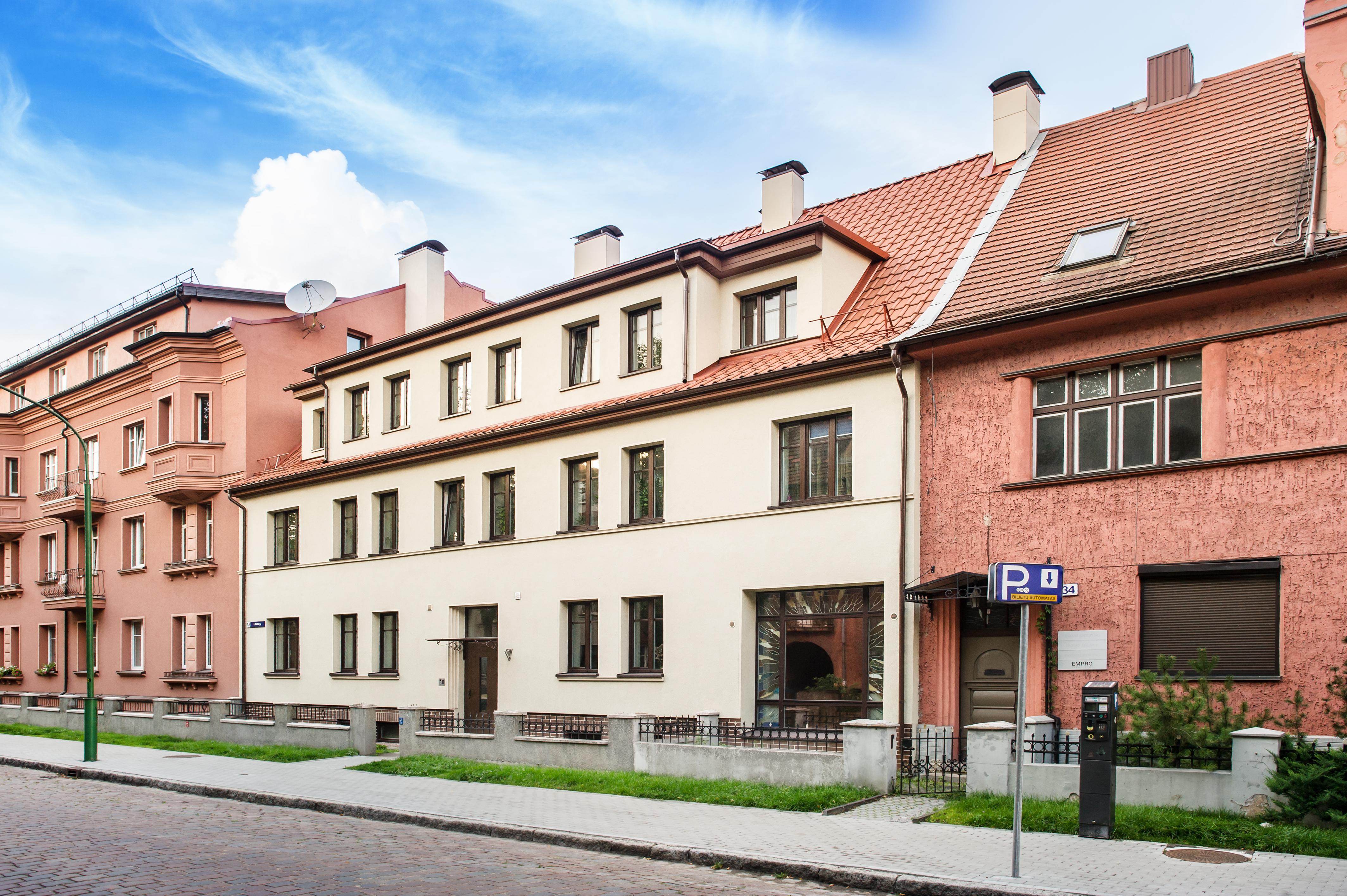 Kanto g. 36, Klaipėdoje, daugiabučio modernizacija
