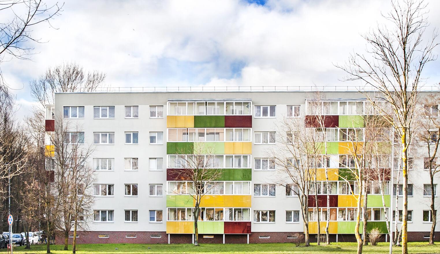 Kauno g. 19, Klaipėdoje, daugiabučio modernizacija