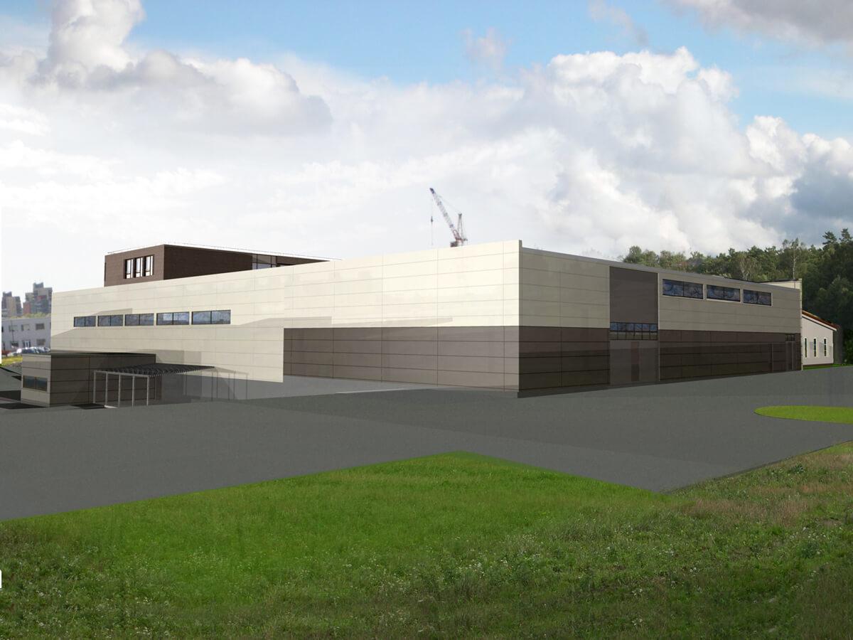 Didmeninės prekybos pastato projektas Šilutės pl. 93B, Klaipėda
