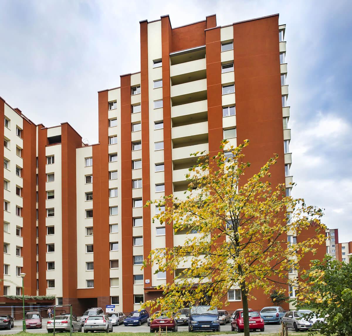 Kretingos g. 61, Klaipėdoje, daugiabučio modernizacija