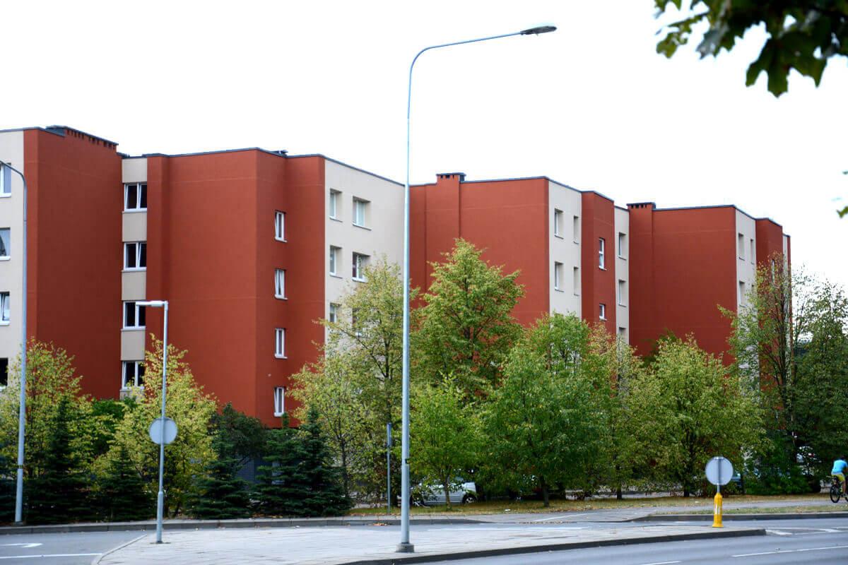 H. Manto g. 92, Klaipėdoje, daugiabučio modernizacija