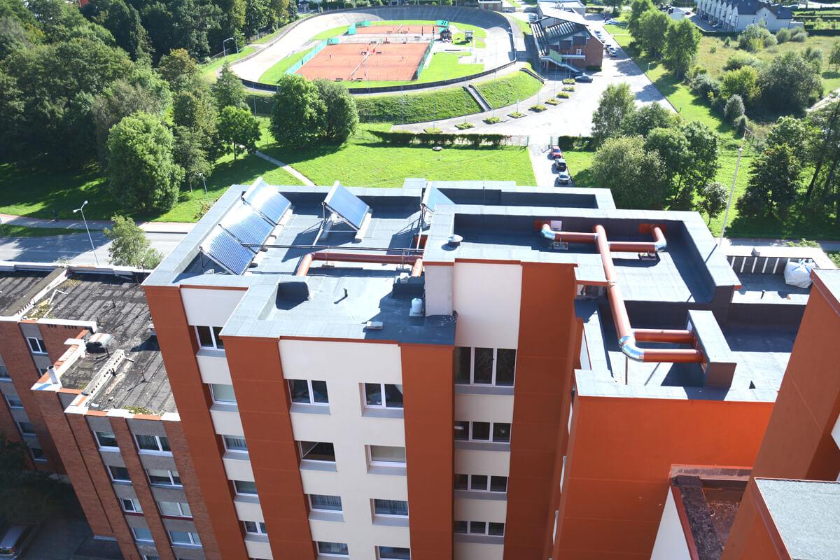 Kretingos g. 63, Klaipėdoje, daugiabučio modernizacija