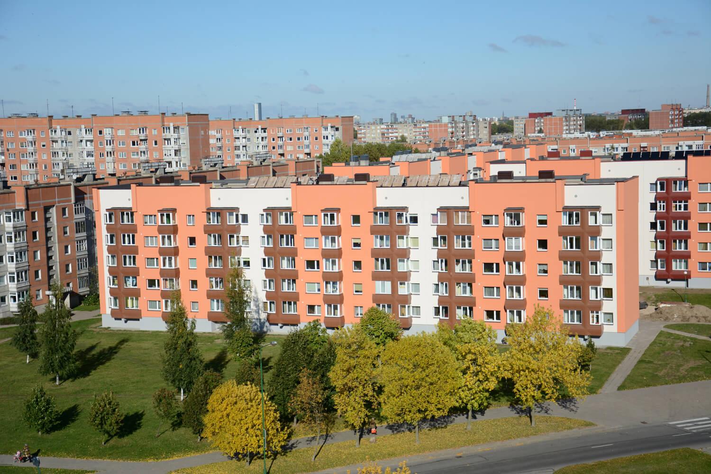 Vyturio g. 21, Klaipėdoje, daugiabučio modernizacija