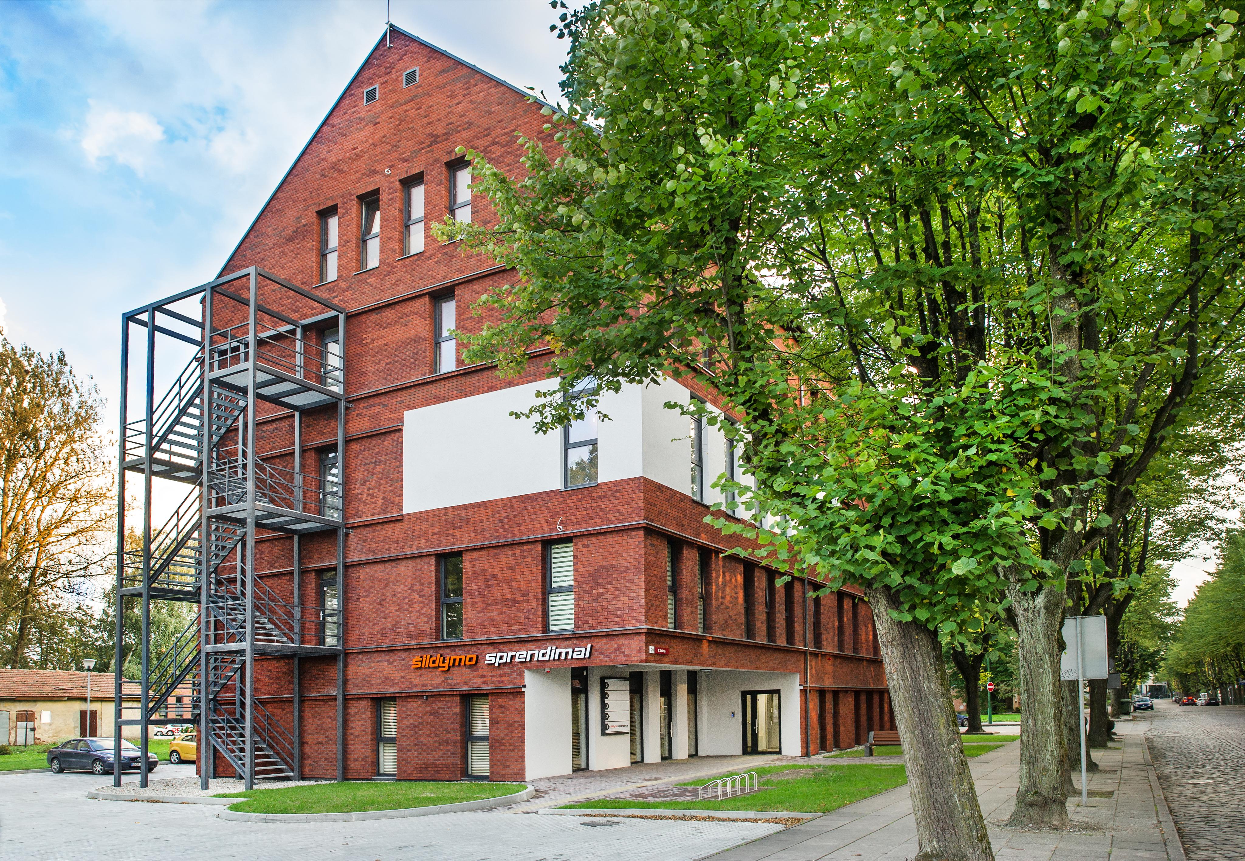Gydymo paskirties pastato projektas S. Nėries g. 20, Klaipėda
