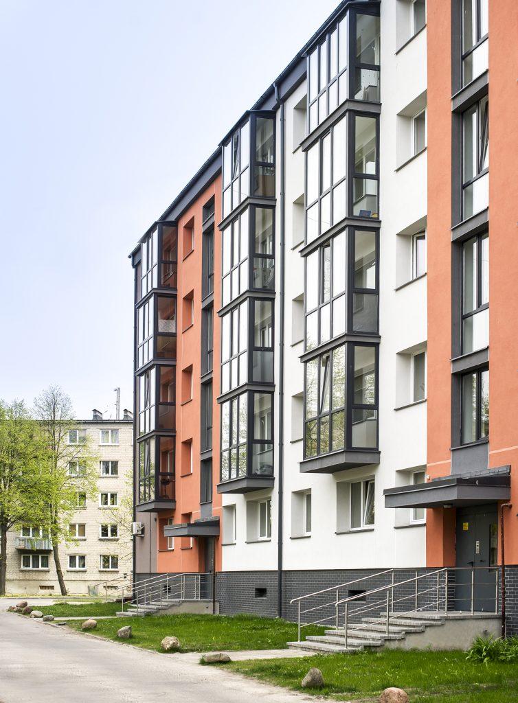 Kretingos g. 15, Klaipėdoje daugiabučio modernizacija