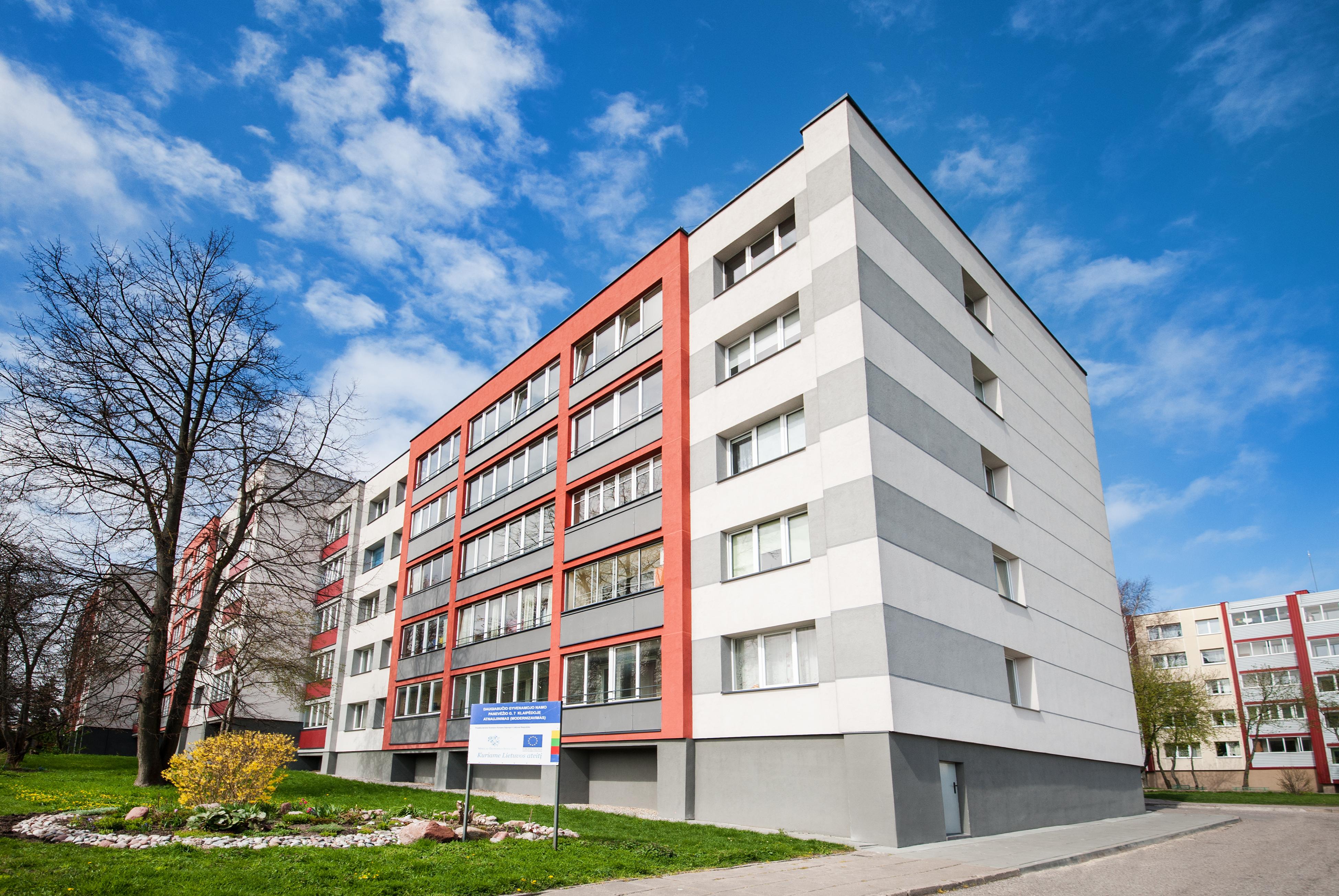 Daugiabučio gyvenamojo namo Panevėžio g. 7, Klaipėdoje, atnaujinimo (modernizavimo) projektas