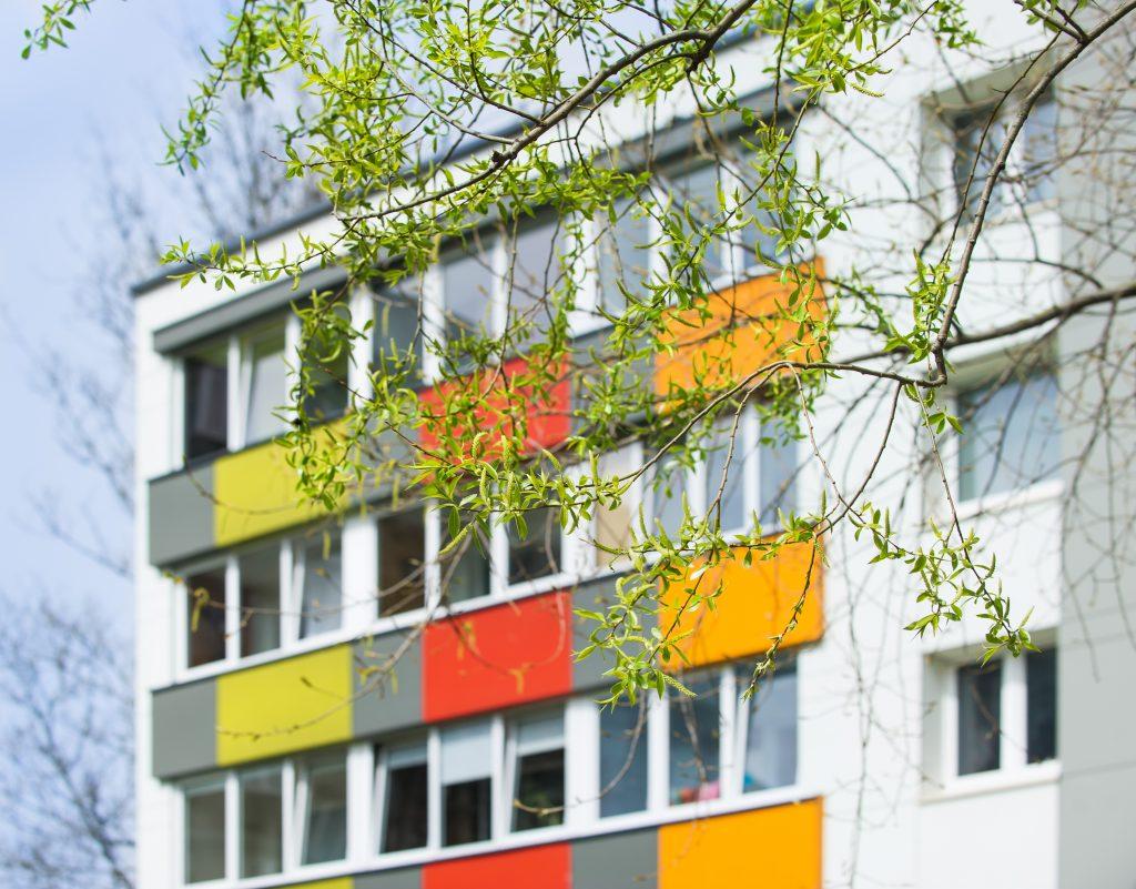 Daugiabučio gyvenamojo namo Statybininkų pr. 30, Klaipėdoje, atnaujinimo (modernizavimo) projektas