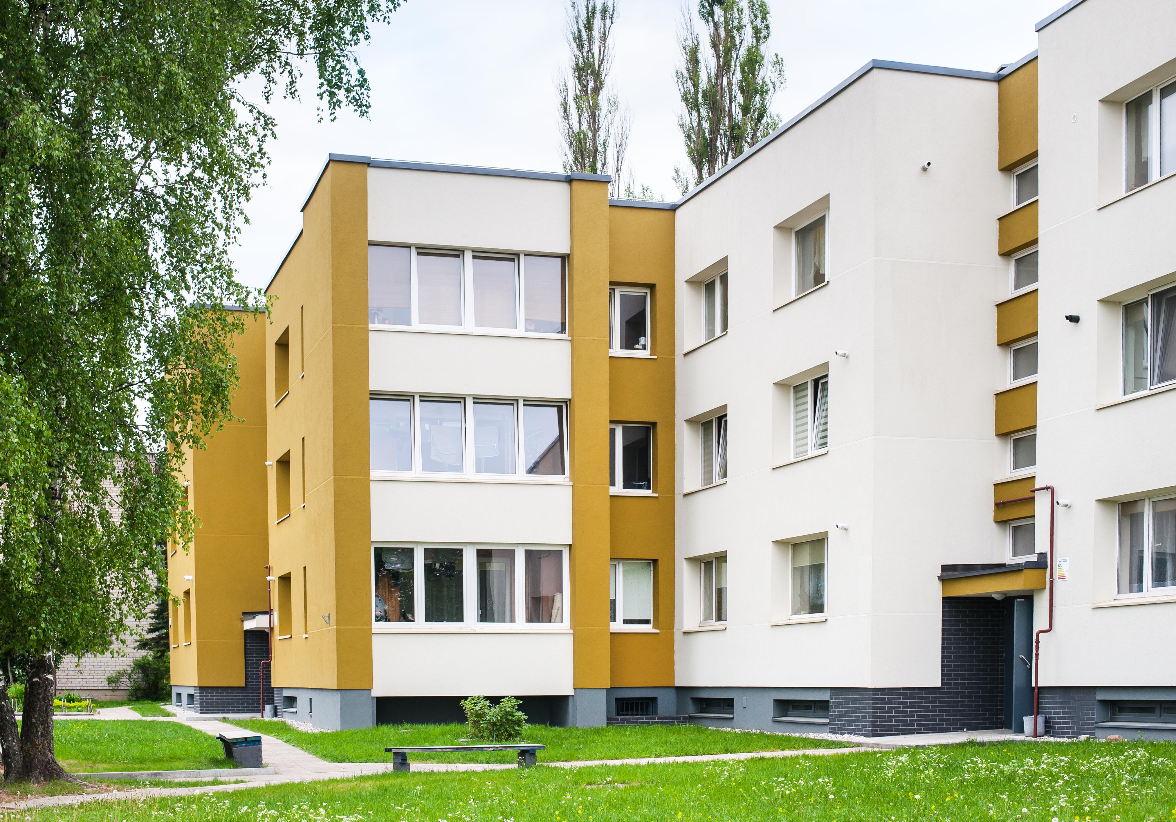 Daugiabučio gyvenamojo namo Kadagių g. 13, Klaipėdoje, atnaujinimo (modernizavimo) projektas