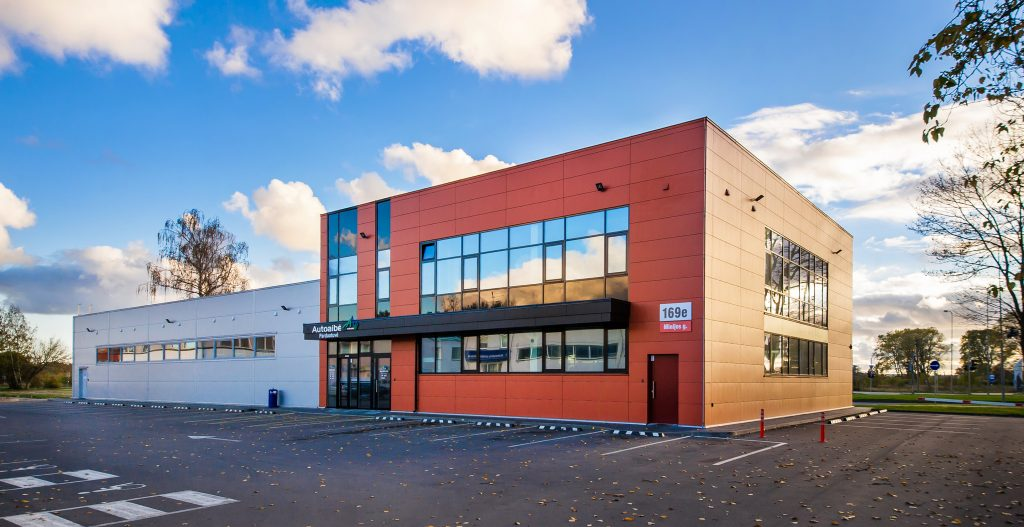 Sandėliavimo pastato griovimas, prekybos pastato Minijos g. 169E, Klaipėdos m., statybos projektas