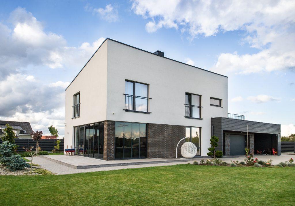 Rūko g. 25, Klaipėda, gyvenamojo namo projektas