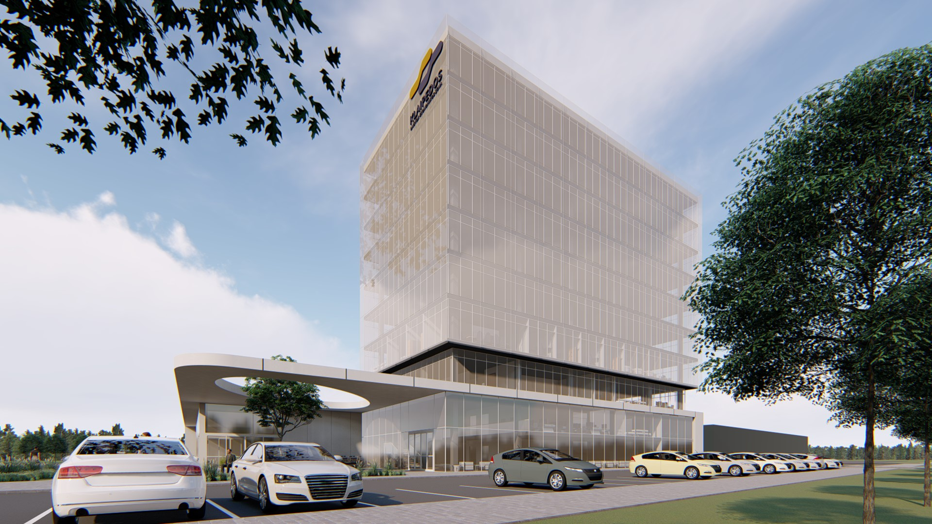 Klaipėdos LEZ administracinio pastato su prekybine zona projektinis pasiūlymas