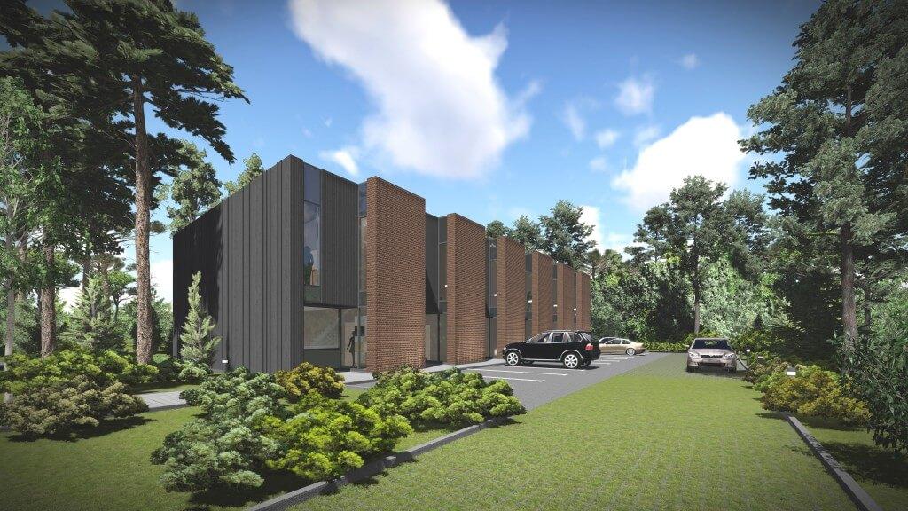 Blokuotų dviejų butų gyvenamųjų namų Turistų g. 8, Klaipėdoje, projektiniai pasiūlymai