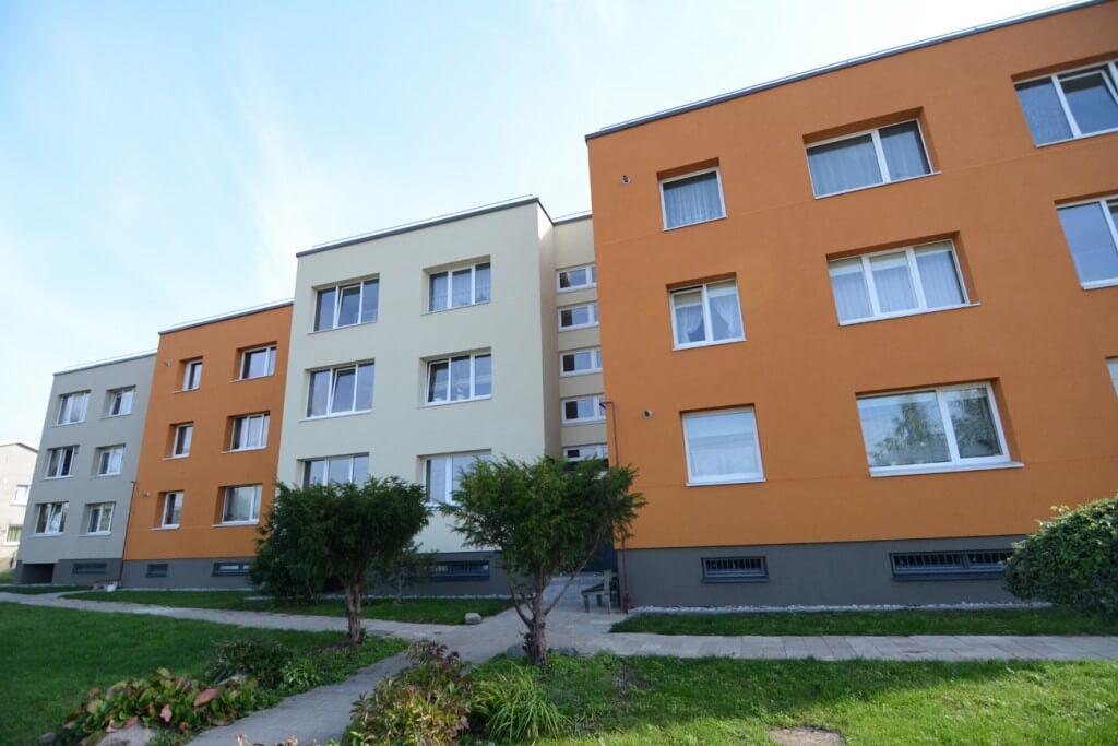 Kadagių g. 5, Klaipėdoje, daugiabučio modernizacija
