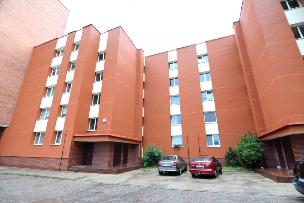 Kretingos g. 59, Klaipėdoje, daugiabučio modernizacija