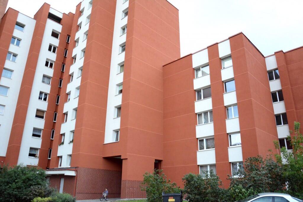 Kretingos g. 45, Klaipėdoje, daugiabučio modernizacija
