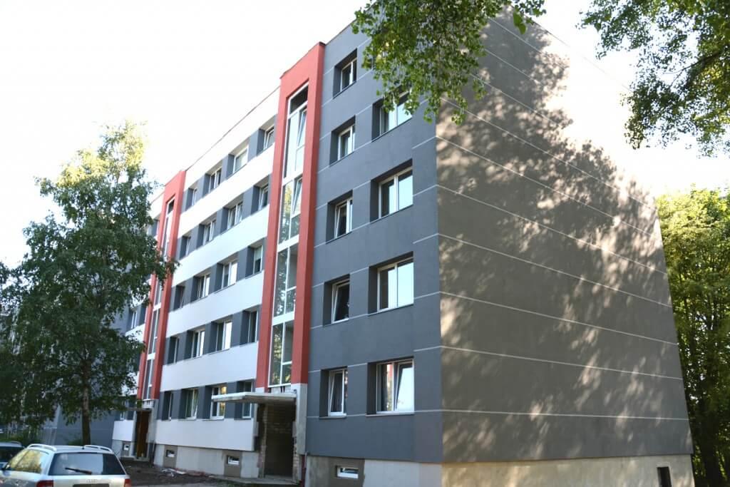 Panevėžio g. 7, Klaipėdoje, daugiabučio modernizacija