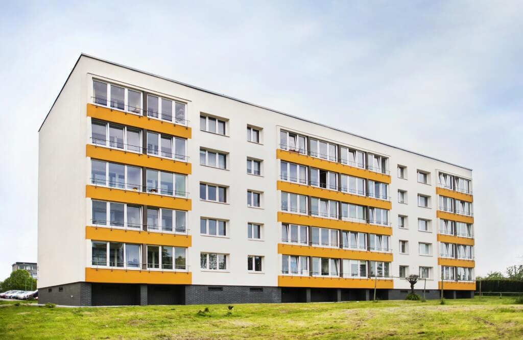 Panevėžio g. 17, Klaipėdoje, daugiabučio modernizacija