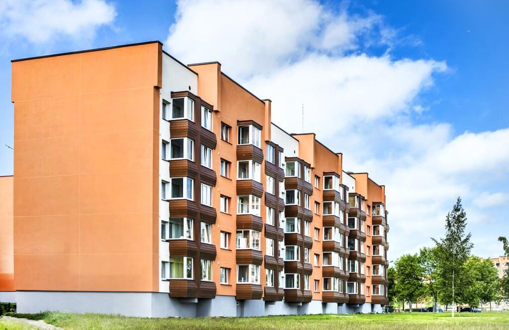 Vyturio g. 25, Klaipėdoje, daugiabučio modernizacija