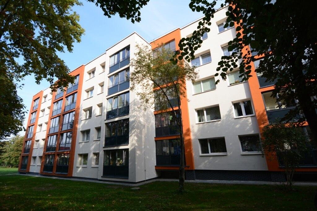 Panevėžio g. 5, Klaipėdoje, daugiabučio modernizacija