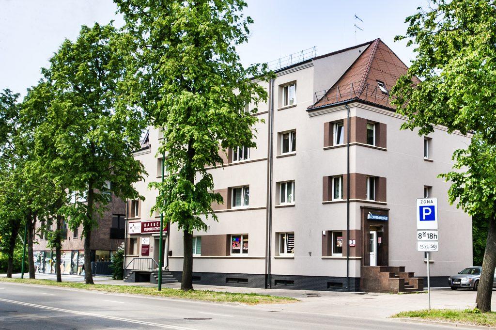 Daugiabučio gyvenamojo namo Sausio 15-osios g. 13, Klaipėdoje, atnaujinimo (modernizavimo) projektas