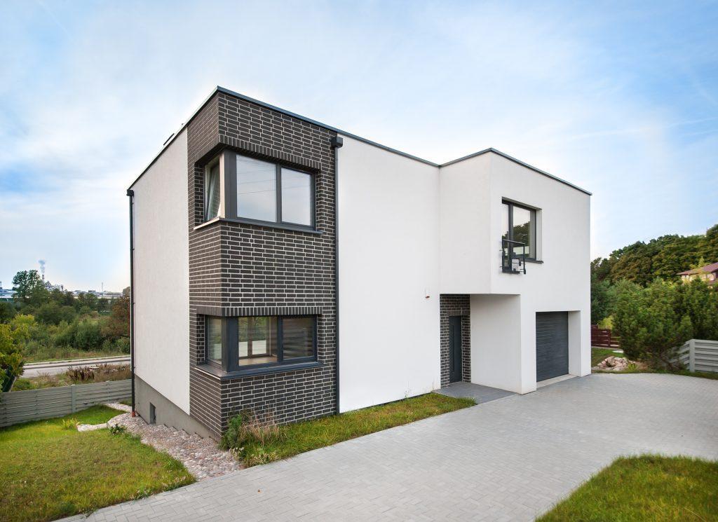 Šienpjovių g. 23, Klaipėda, gyvenamojo namo projektas
